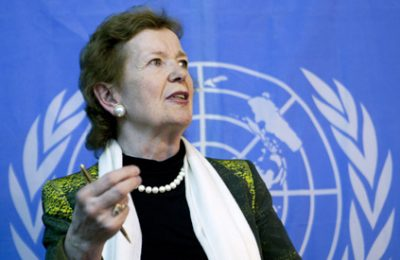 What is Mary Robinson Drinking? Ye Olde Empire Ale?