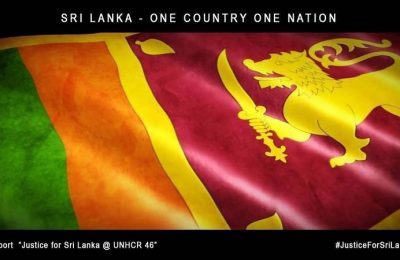 Justice for Sri Lanka @ UNHRC 46