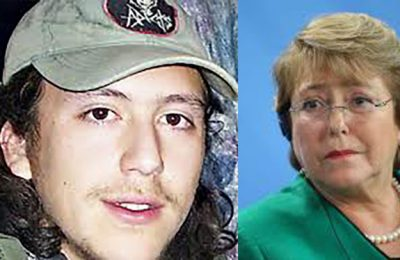 The UNHRC's Michele Bachelet wants us to forget Matías Catrileo