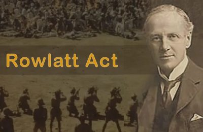 The Rowlatt Act (yes, from 'Great' britain) and other tidbits