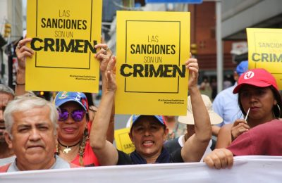 How sanctions violate human rights